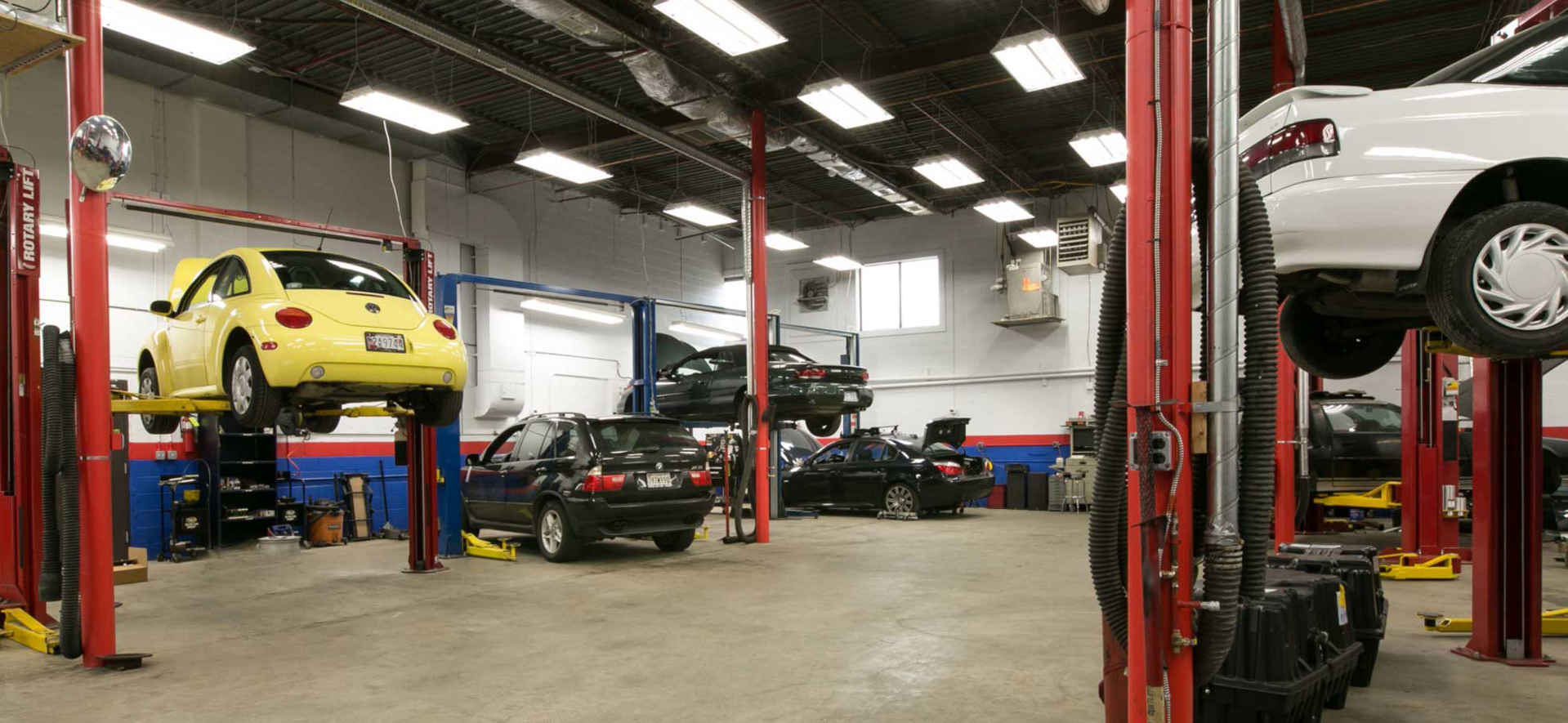 Garage Floorplans Gili S Automotive In Rockville Md Rockville Auto Repair